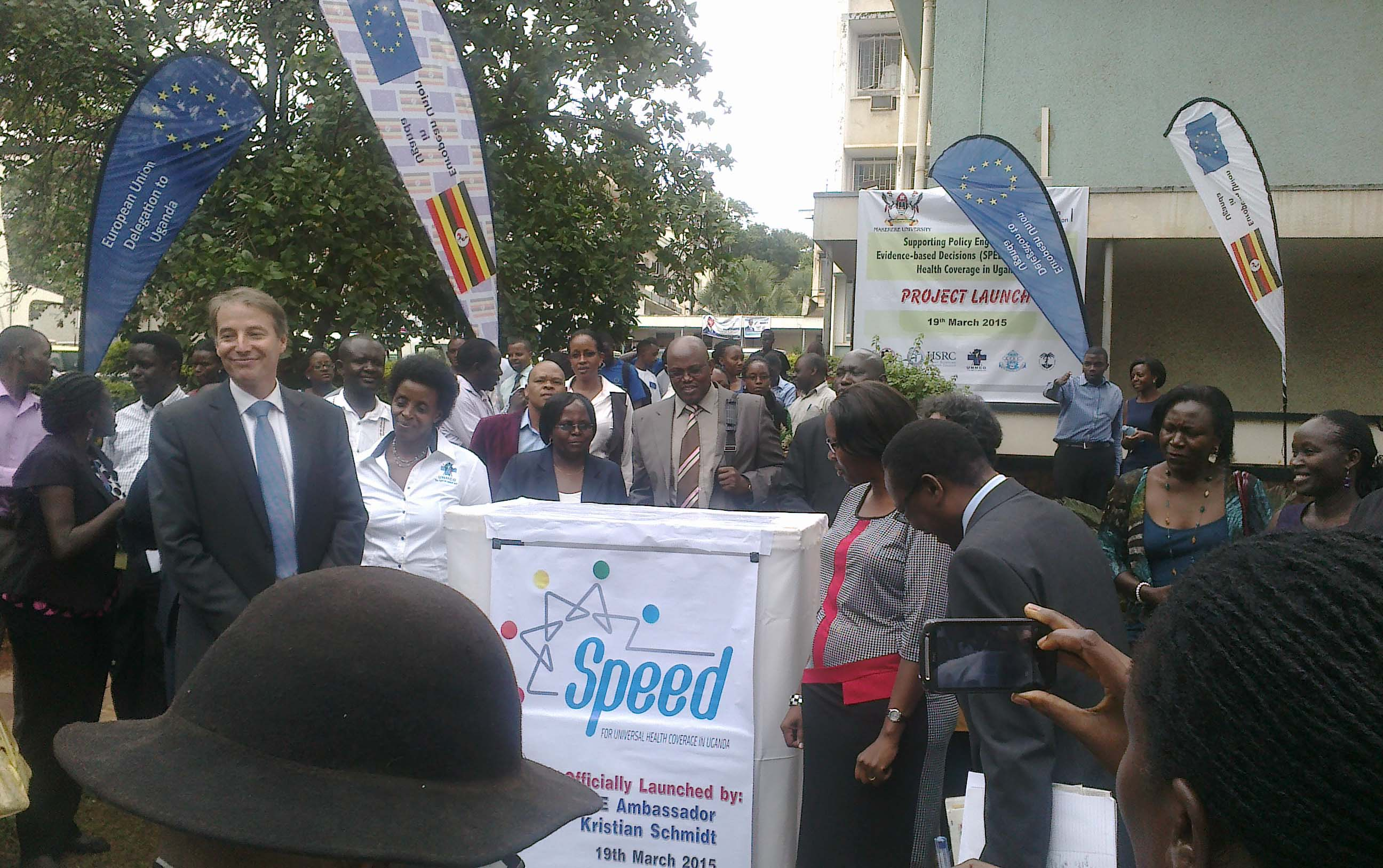 EU Ambassador Launches Policy Analysis Strengthening (SPEED) Project