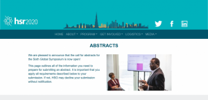 HSR 2020 Abstracts Call